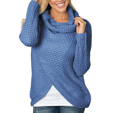 Women's Cross Knit Sweater