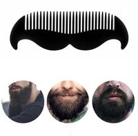 Moustache shaped comb. Perfect beard comb for men!