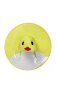 Childrens's Chick Umbrella Rain Hats. Seriously Cute!