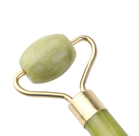 Jade face roller/massager. Double ended.