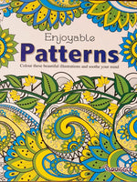 Adult Colouring Book - Patterns