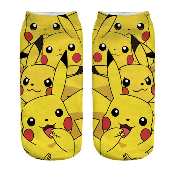 Pikachu socks. Great unisex gift idea!