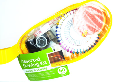 Sewing Kit, travel/handy sized. Contains 50+ items