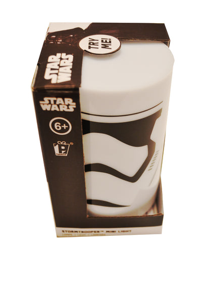 Storm Trooper Mini Light. Star Wars Push Down on/off function.