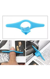 Thumb book holder/bookmark. Multi use item. Novelty yet practical!