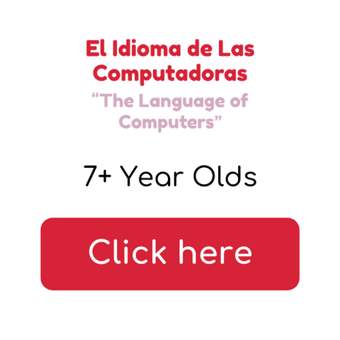 Button 7+ year olds - El Idioma de las Computadoras