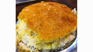 Rice with Crust - Persian Tahdig