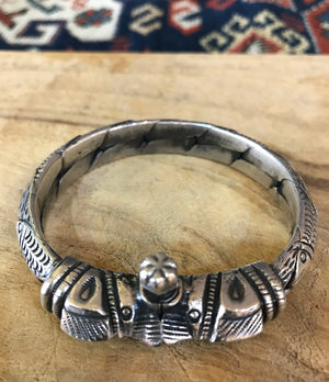 Old Silver Bangle