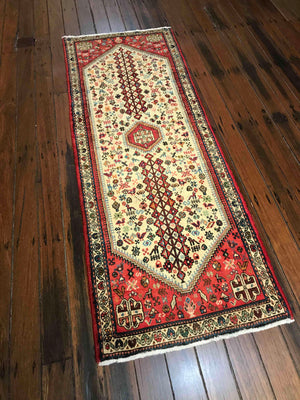 South Persian handmade sheep wool Rug.
