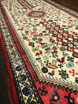 Abadeh South Persian Tribal Rug 195x72cms