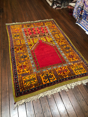 Inlice Turkish Prayer Rug 220x140cms