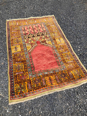 Inlice Turkish Prayer Rug 202x128cms