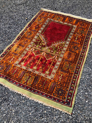 Inlice Turkish Prayer Rug 194x131cms