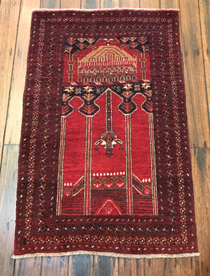 Turkoman Prayer Rug
