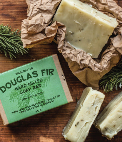 DOUGLAS FIR HARD SOAP