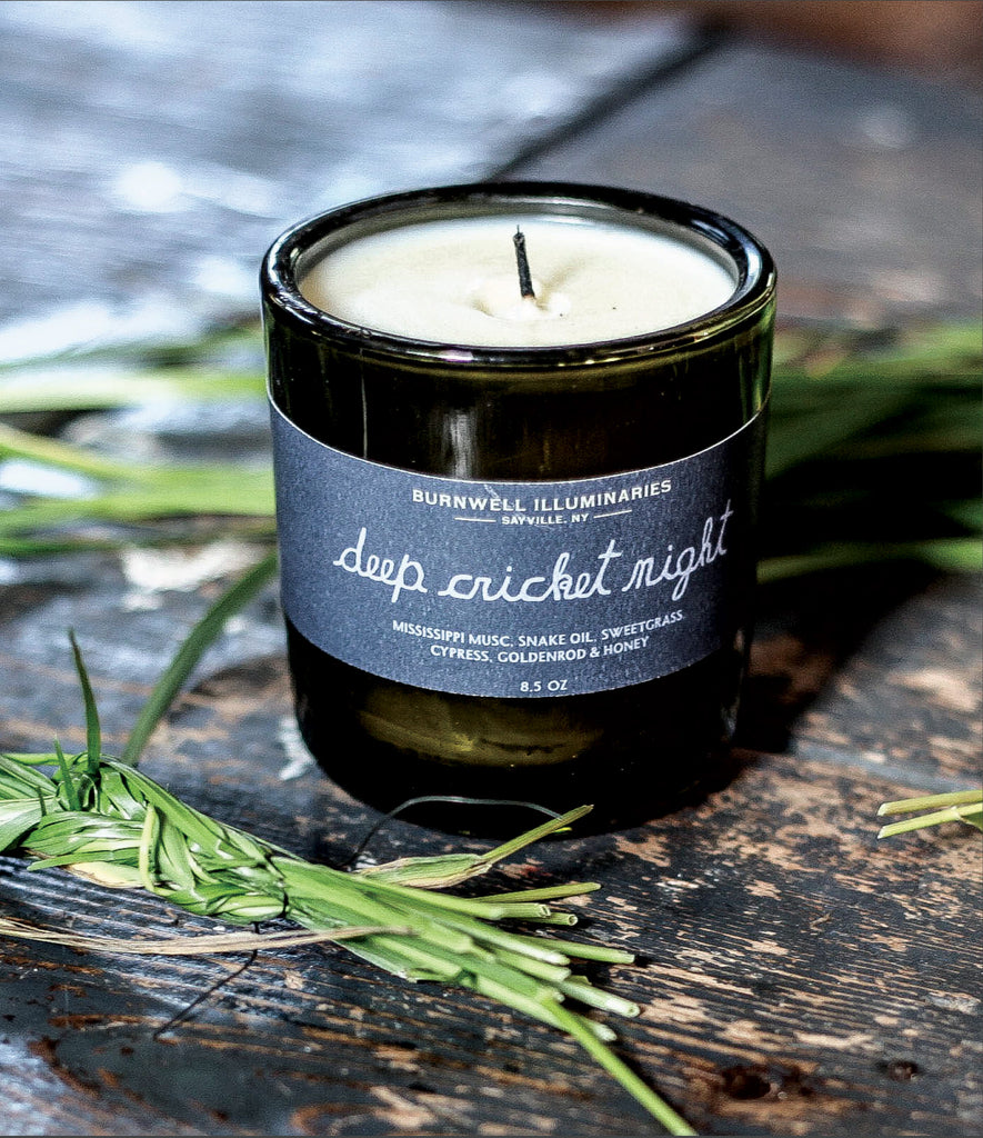 DEEP CRICKET NIGHT BURNWELL CANDLE