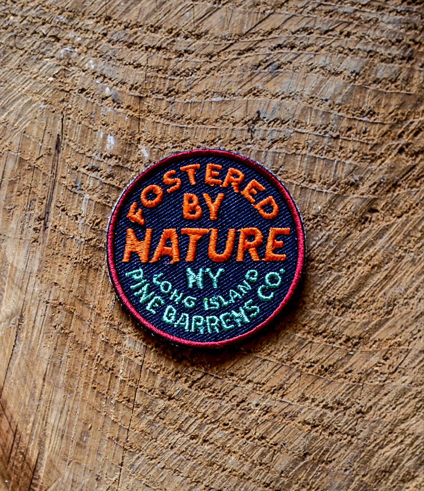 FOSTERED BY NATURE PATCH