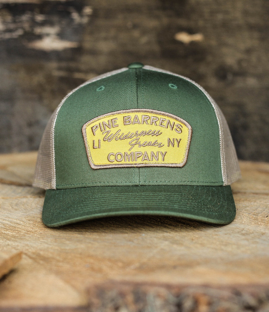 KEYSTONE HAT IN MOSS