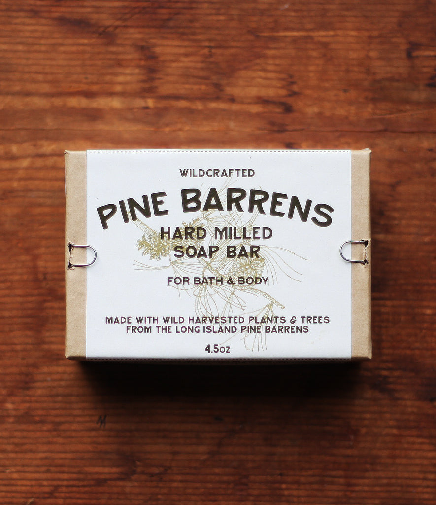 PINE BARRENS HARD SOAP