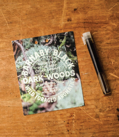DARK WOODS CEDAR WILDERNESS COLOGNE SAMPLE
