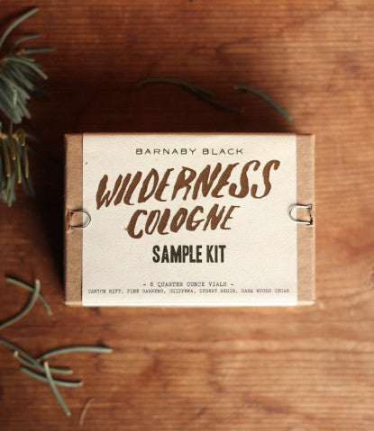 WILDERNESS COLOGNE SAMPLE KIT