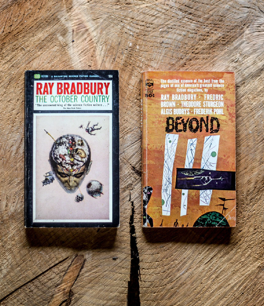 VINTAGE RAY BRADBURY PAPERBACK COLLECTION