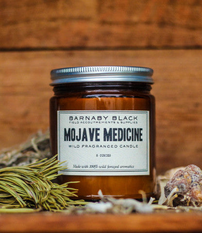 MOJAVE MEDICINE WILD FRAGRANCED CANDLE