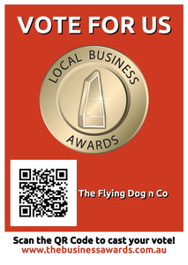 We're finalists in the local business awards 2020! Give us a vote 🙌