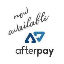 AFTERPAY NOW AVAILABLE!