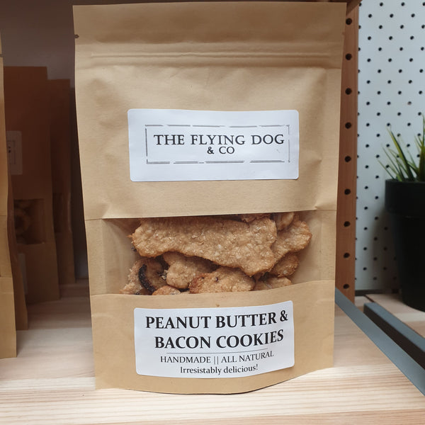 Handmade Peanut butter Bacon dog treats - The Flying Dog n Co gerringong australia pet boutique collective smallbusiness ladystartups