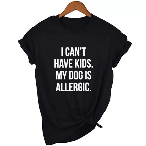 I can't have kids, my dog is allergic! - The Flying Dog n Co gerringong australia pet boutique collective smallbusiness ladystartups