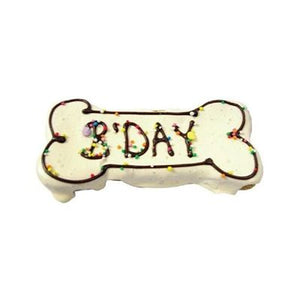 Birthday Cookie Large Bone - The Flying Dog n Co gerringong australia pet boutique collective smallbusiness ladystartups