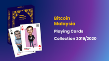 Load image into Gallery viewer, BitcoinMalaysia Playing Cards Collection 2019/2020