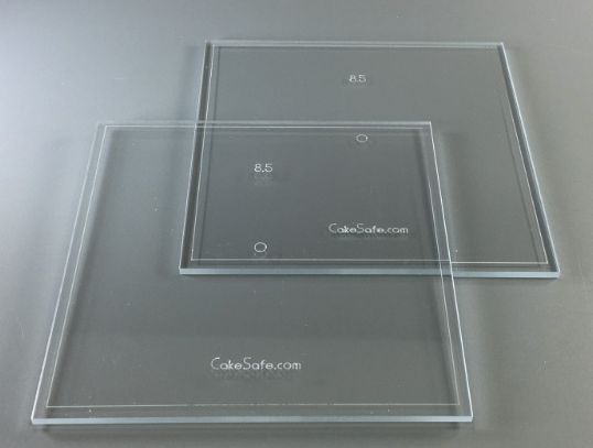 Square Acrylic Disk