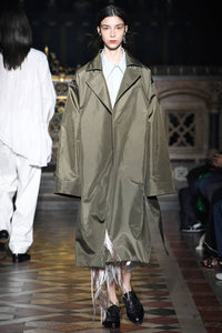 Sharon Wauchob Oversize Stitch Pocket Trench Coat
