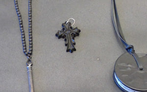 J_S_Productions Vintage Cross Earing