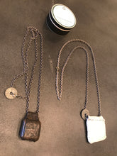 Load image into Gallery viewer, J_S_Productions  Leather/Silver Pendant