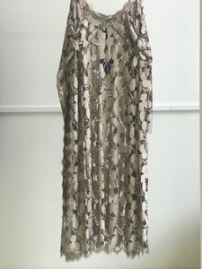 Sharon Wauchob Splice Lace Bronze Dress