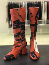 Load image into Gallery viewer, Dries Van Noten  Knee High Canvas Boots