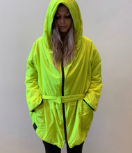 Load image into Gallery viewer, KIMONORAIN Fluro Yellow Basic jacket