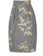 Load image into Gallery viewer, Dries Van Noten Floral Midi Skirt