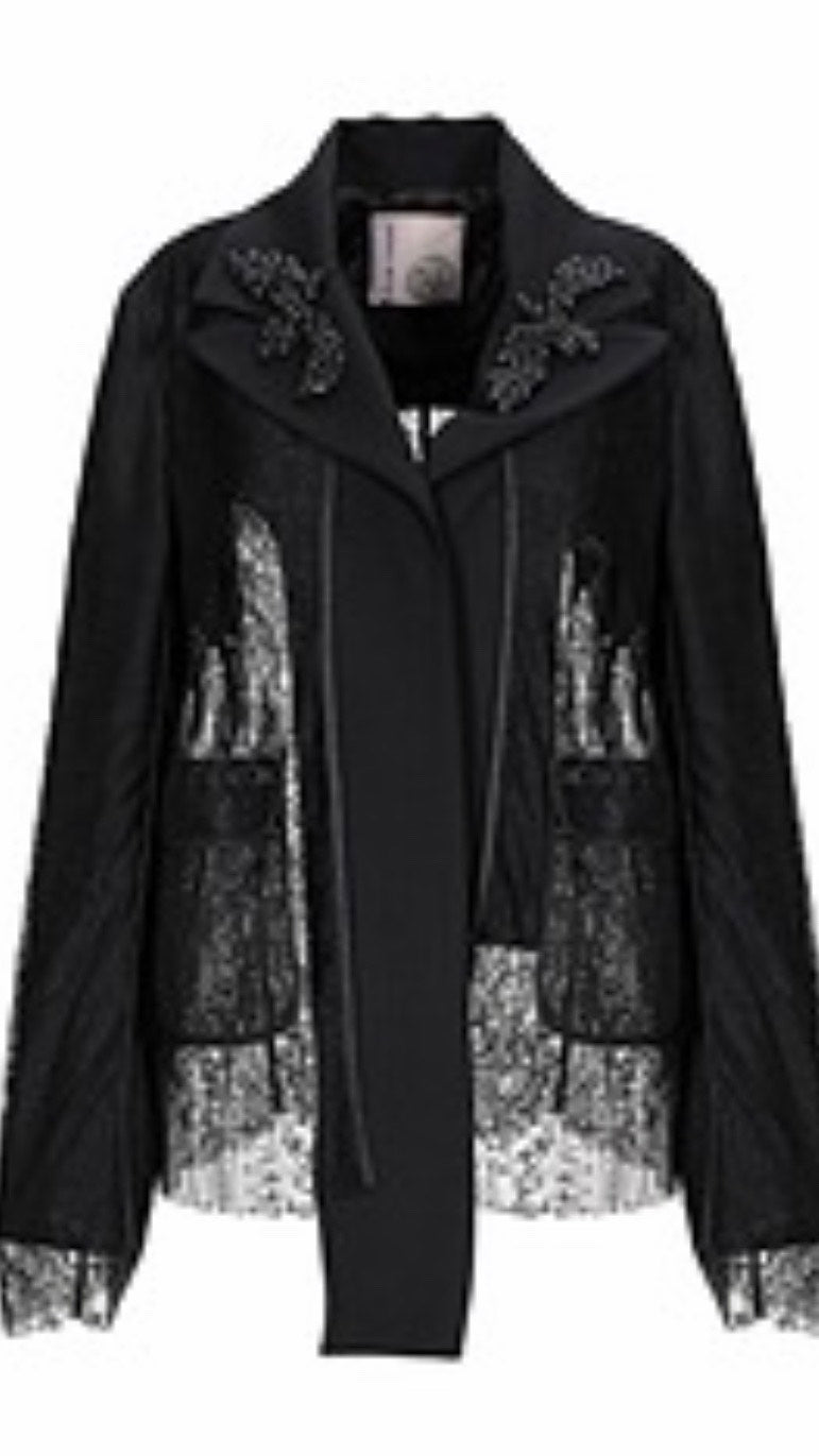 Antonio Marras Black Lace Jacket