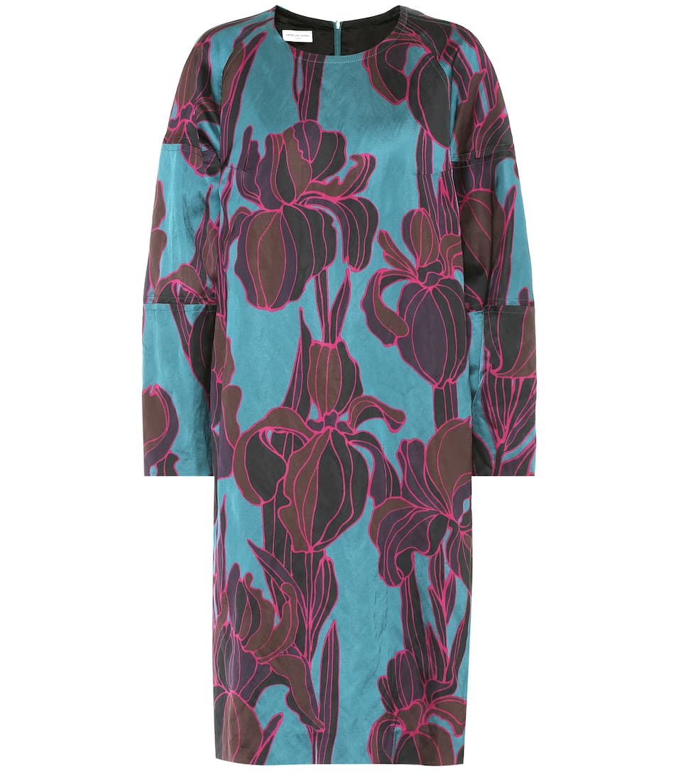Dries Van Noten New Season Floral satin dress