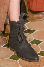 Load image into Gallery viewer, Uma wang  black ankle tie boot