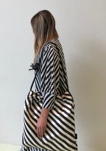 Dries Van Noten Stripe Shoulder Bag
