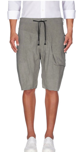 MASNADA Men's Grey  Bermuda