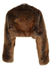 Load image into Gallery viewer, Dries Van Noten Guilda Faux Fur Shaul