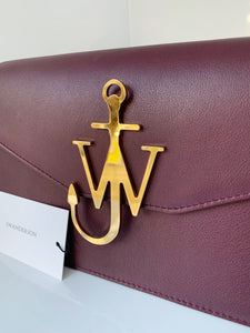J.W.Anderson Logo Purse Bordeaux Bag