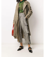 Load image into Gallery viewer, Masnada tapered stripe trousers