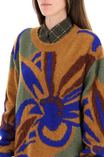 Load image into Gallery viewer, DRIES VAN NOTEN NEW SEASON  FLORAL INTARSIA SWEATER